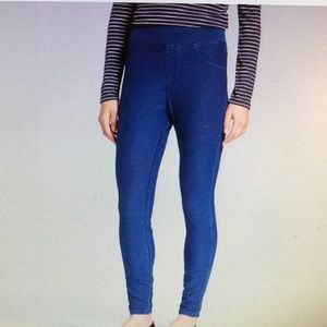 A New Day high waist medium wash blue jegging